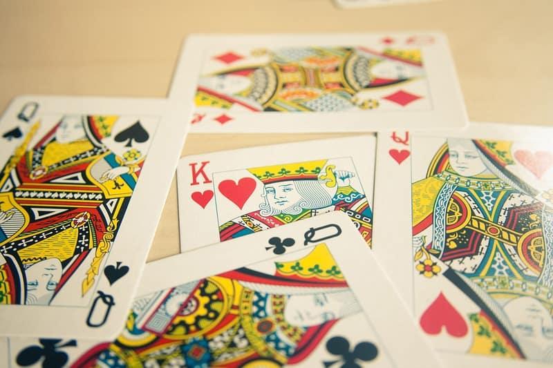 Những lá bài trong bộ bài Tây