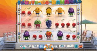 Trò chơi máy đánh bạc Fruits Go Bananas của Wazdan lên sóng