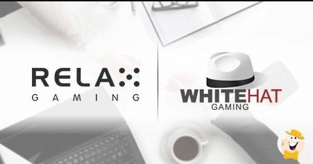 Relax Gaming ký thỏa thuận hợp tác với White Hat Gaming