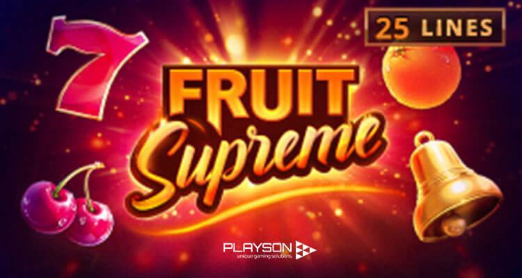 Giao diện máy đánh bạc trái cây của Playson
