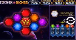 Những viên đá quý trong trò chơi Gems & Riches