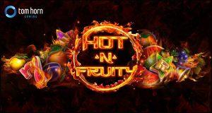 Giao diện máy đánh bạc video Hot 'n' Fruity