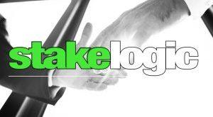 Logo nhà sản xuất trò chơi sòng bạc trực tuyến Stakelogic