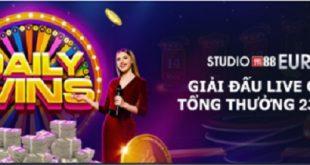 Nhận thưởng lớn triệu đô khi tham gia cược tại Live casino